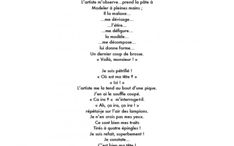 Texte de Raymond Devos pour Daniel Druet